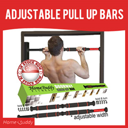 PULL UP BAR 💋DELUX version XTRA-LONG Grip XTRA-DUTY Bar💋 ■ PUSH UP BAR [1pair] ★ Stocks SG ★