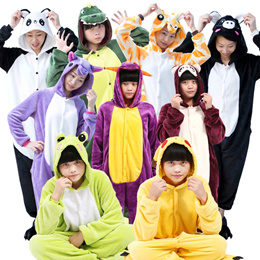 ANIMAL DESIGN ONESIES*POKEMON*COSTUME*LONG SLEEVE FLURRY TYPE*PARTY COSTUME UNISEX*COSPLAY*