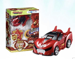 ★ Ultra Blue Will Special ★ Power Battle Watch Car Power Coin Battle/ TRANSFORMER ROBOT/ korea kids