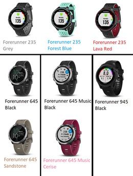 Garmin Forerunner 235 / 645 / 645 Music / 935 Smart Running Watch