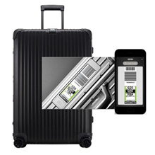 ★ Coupon price $ 1010 VAT included ★ Rimowa Carrier Topaz Stealth Multi-Wheel 70 size electronic tag
