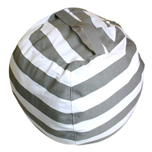 Creative Modern Storage Stuffed Animal Storage Bean Bag Chair Portable Kids Clothes Toy Storage Bags