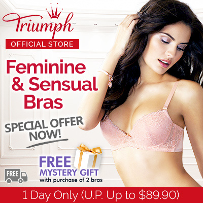 cebd830af75bd Buy Triumph   Feminine   Sensual Bras   Maximizer   Wired   Push Up   Form  Beauty   Non Push Up   Deals for only S 69.9 instead of S 0