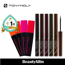 Tonymoly - Perfect Lips Shocking Lip 7g 4 Color / Perfect Eyes Coating Liner - Water Proof 2.4ml 5 Color
