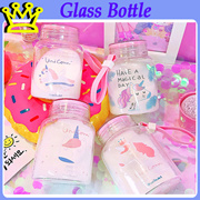 UNICORN GLASS BOTTLE CHRISTMAS GIFT