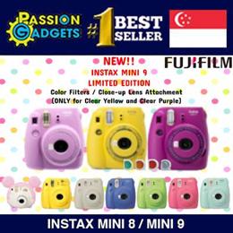 SG SELLER◆Instax Mini 8/Mini 9◆Fujifilm Latest Instax Polaroid◆ SG WARRANTY◆MINIONS / GUDETAMA /TSUM