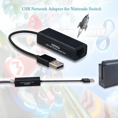 Nintend Switch/Xiao Mi USB Ethernet Adapter USB 2 0 Network Card for  Windows 10/Xiaomi Mi Box 3/Nin