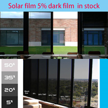 Dark film solar 5% .solar 10 /The cheapest Solar window film /Freetool For HDB/Cond/Apart
