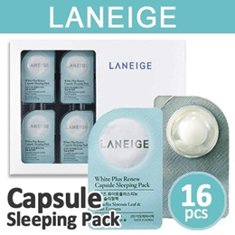 [LANEIGE] White Plus Renew Capsule Sleeping Pack 3ml * 16ea / 2014 New