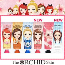 The ORCHID Skin [ディオーキッドスキン] オーキッド フラワー ハンドクリーム 60ml モイスチャー/ホワイト/リンクル/ヨブリーピック 選択1/ 韓国コスメ・書留(追跡可能)
