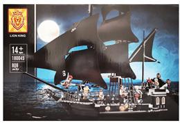 레고 호환블럭 LION KING 180045 캐리비안의 해적 블랙펄 해적선(16006)