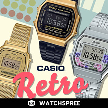 *APPLY 25% OFF COUPON* CASIO Retro Collection New Arrivals. Free Shipping and Warranty!
