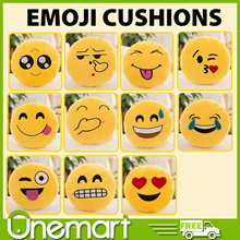 [LIFE+] EMOJI CUSHIONS • MULTI DESIGNS • ADORABLE • 33CM