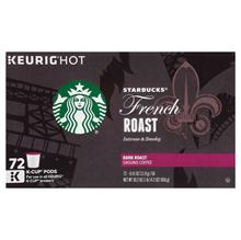 ★★★★ 72 Starbucks Dark French Roast K-Cup 72-count Starbucks Dark French Roast Capsule Coffee