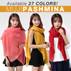 NEW COLLECTIONS MUJI PASHIMNA LINEN- MUJI SHAWL - 26 COLOUR - BEST SELLER - GOOD QUALITY