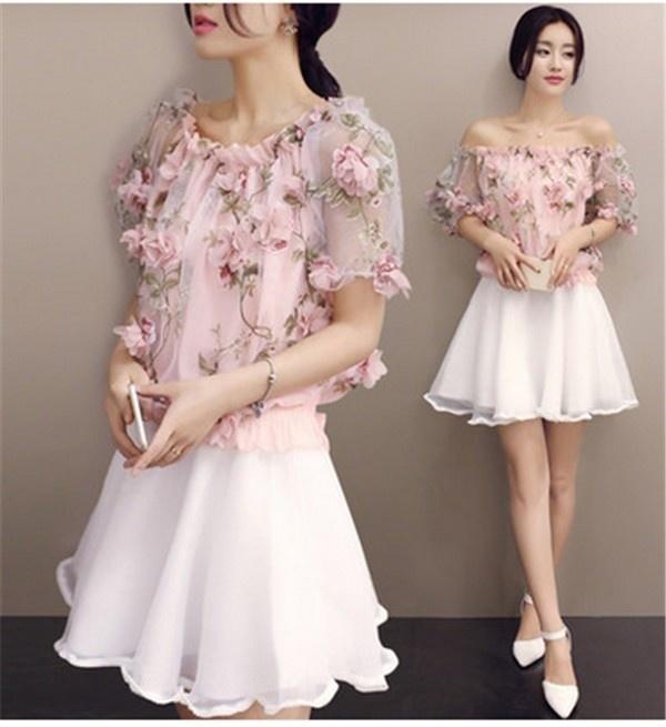 レディースワンピース プリンセス プリント ファッション ハイセンス 着心地いい おしゃれ 夏 スリム セール★ レディースワンピース