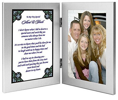 Qoo10 Aunt And Uncle Gift From Niece Or Nephew Sweet Poem In