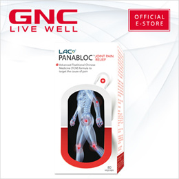 [Relieve Joint Stiffness and Pains] LAC Panabloc Joint Pain Relief (80 vegicaps) Joints/Supplement/