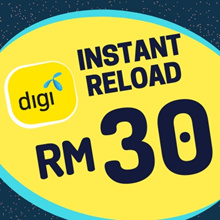 Digi instant Top UP RM30