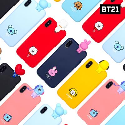【BT21 x LINE FRIENDS】 BTS BangTan iPhone Galaxy Bbakkom Case GIFT!