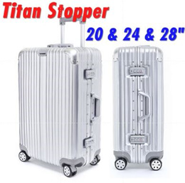 Alluminium Luggage Titan Stopper Luggage/ABS+PC/Sturdy/20/24/28/Hardshell