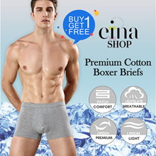 BUY 1 GET 1 FREE FREE SG SHIPPING Men Boxer Briefs Underwear Mix and Match SALE Einashop