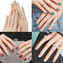 ★Global NO.1★Authentic★2018 New Arrival Dashing Diva/One Second Gluing Gel Nail★Magic Press Slim Fit