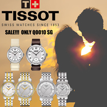 【Lovers Watches】TISSOT Watches 100% Waterproof/Stainless Steel/Leather Strap/For Man and Women