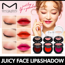 [MACQUEEN] ❤1+1❤ Juicy Face Lip and Eye shadow / Perfect Color Match!