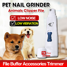 Pet Nail Grinder Cat Dog Puppy Animals Clipper File Buffer Accessories Trimmer Grooming PC-300