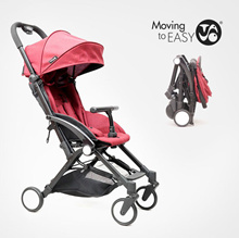 Tavo Baby Compact Folding Self Standing Stroller Baby Seat EMS