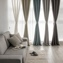 3-ply solid 99% blackout curtain★High Quailty 8 Color