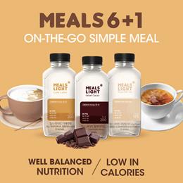 [INTAKE] MEALS Light - 6+1 bottles / Simple Breakfast / HMR / Kfood