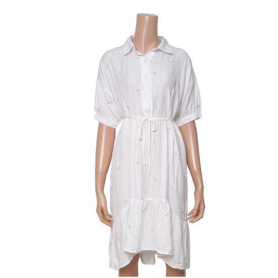 カルチャースターの房自首腰紐ワンピースRWOPH707 面ワンピース/ 韓国ファッション