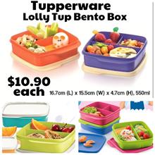 Tupperware Lolly Tup Bento Box  / Jolly Tup Bento Box Set