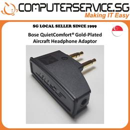 Bose QuietComfort® / Bowers N Wilkins / OEM Headphones Airline Audio Adapter