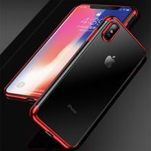 Iphone XS Max Iphone XR Electroplate TPU Soft Case Cover Casing Housing