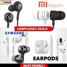 Samsung IPhone Earpod Xiaomi Piston Earphone Redmi 1/2/3 Note Earpiece Galaxy S4 S6 S7 S8 Edge Mic
