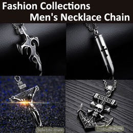 🔥Hot Selling/ Mens Ttanium Fashion Pendant Necklace with chain / Latest Fashion / Jewelry / Gift
