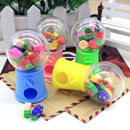 Eraser Creative Stationery Cartoon Fruit Style Twist Machine Eraser Children Gifts