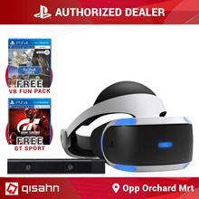 Playstation 4 VR w/ Camera Bundle // 2 Free Games