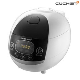 Cuchen Rice Cooker for 6 Persons Steamer Korean Multi-Purpose WM-0619F Display
