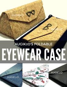 🔆  Foldable Eyewear Hard Case Exclusive Designs 🔆  Folds FLAT Saves SPACE