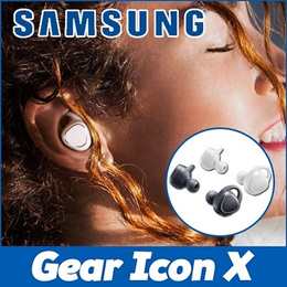 NEW!! [Samsung] Gear IconX Wireless Fitness Headphones  ★BRAND NEW★ Cord-free earbuds In-ear !!