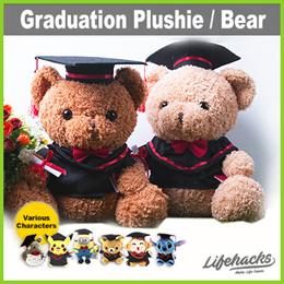 ★ Graduation Plushie / Bear ★ 20cm 27cm 36cm Sizes! Other Character Designs! Cute Grad Gift Teddy
