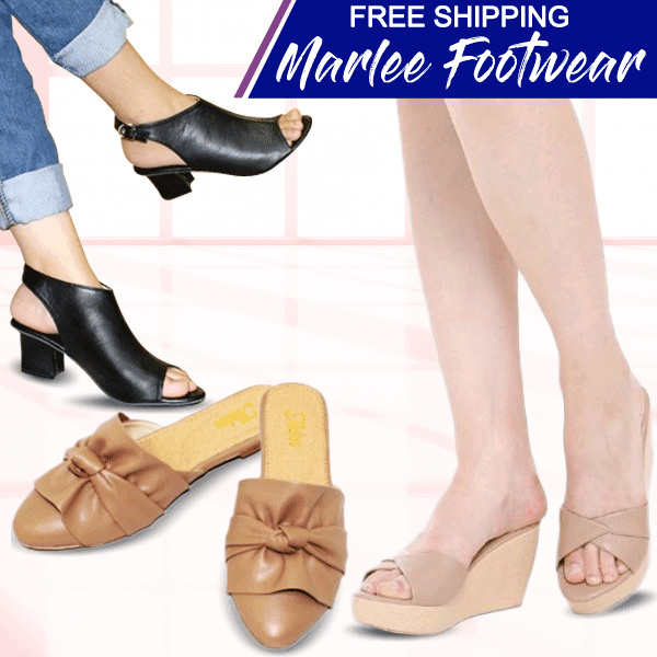 New Collection Update Marlee Shoes // Wedges // Slip On Sandals // Slip On Shoes // Heels Deals for only Rp45.000 instead of Rp45.000