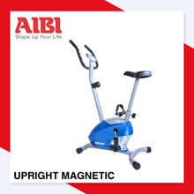AIBI Upright Magnetic ► Blue/Red ► Cycling ► LCD console ► Advanced magnetic resistance system