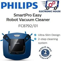 ★ Philips FC8792 SmartPro Easy Robot Vacuum Cleaner ★ (2 Years World-Wide Warranty)