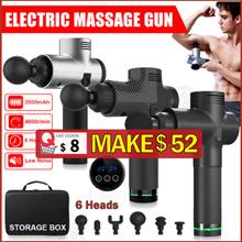 Portable Electronic Therapy Muscle Massage Gun Massage Body Relaxation Pain