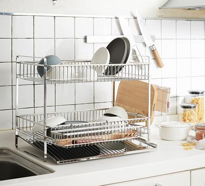 Qoo10 - Dish Drying Rack : Kitchen & Dining